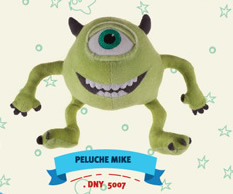 PELUCHE MONSTER UNIV.  MIKE