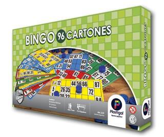 BINGO 96 CARTONES-PLASTIGAL
