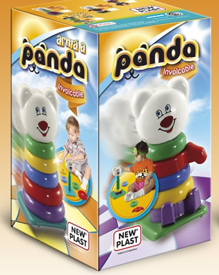 PANDA INVOLCABLE NEW PLAST