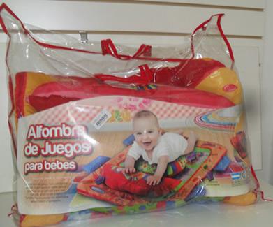 ALFOMBRA DE JUEGO PARA BEBE TUTU