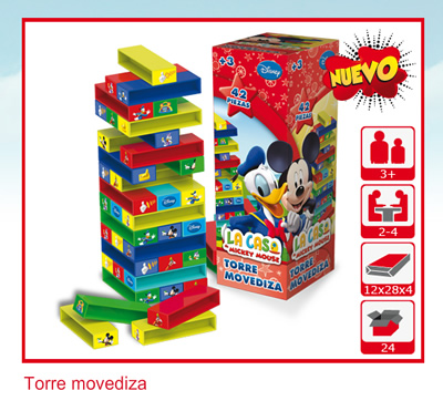 TORRE MOVEDIZA MICKEY