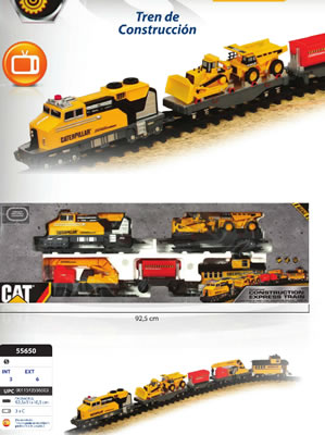 TREN DE CONSTRUCCION CAT
