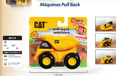 MAQUINAS PULL BACK CAT