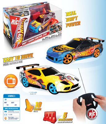 AUTO RADIO CONTROL  DRIFT  HOT WHEELS