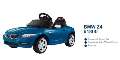 AUTO BMW Z4 - ROJO (B/1) 2379   A BATERIA
