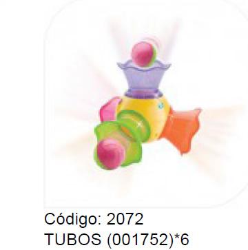 *TUBOS (001752)*6 738339017528
