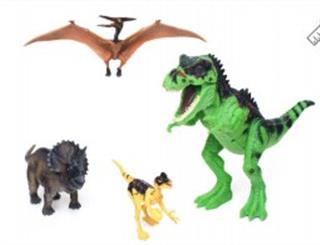 4 DINOSAURIO PLAY SET 27CM 7790752993066