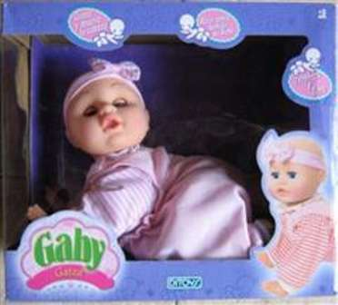GABY GATEA CRAWING BABY ** TV ** DITOYS