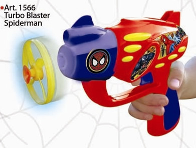 SPIDERMAN TURBO BLASTER ** TV ** DITOYS