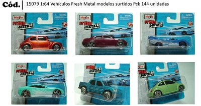 1:64 VEHICULOS FRESH METAL MOD SURTIDOS MAISTO FRESH METAL C