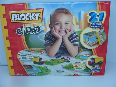 BLOCKY CIUDAD 2 EN 1 P/JUGAR