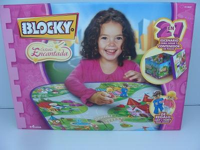 BLOCKY ENCANTADA 2 EN 1 P/JUGAR