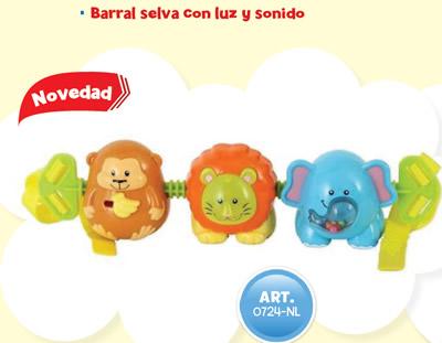 BARRAL SELVA CON LUZ Y SONIDO 4895038543485